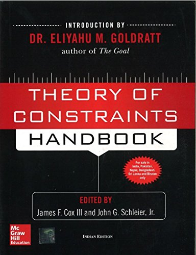 9780071072984: Theory Of Constraints Handbook 1ED