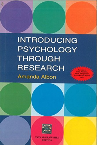 9780071073004: Introducing Psychology Through Research