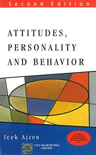 9780071074261: Attitudes, Personality And Behaviour