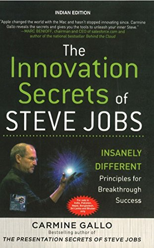 9780071074339: The Innovation Secrets of Steve Jobs: Insanely Different Principles for Breakthrough Success
