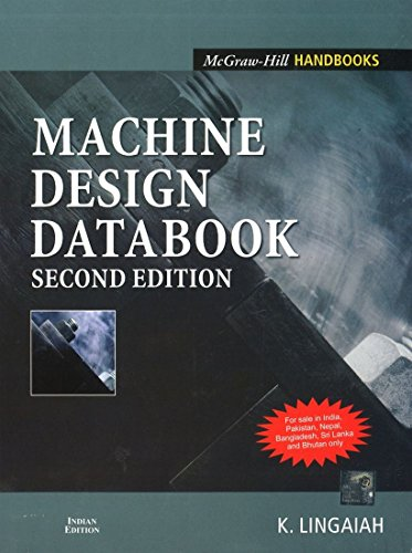 Machine Design Databook 2Nd Edition: K. Lingaiah