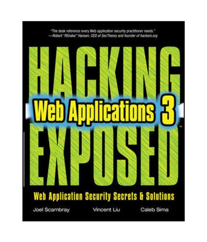 9780071074407: Hacking Exposed Web Applications 3ED