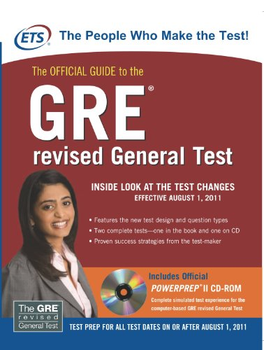 9780071074445: The Official Guide to the GRE revised General Test