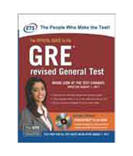 9780071074445: The Official Guide To The GRE Revised General Test (with CD)