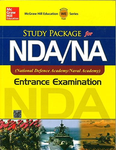 9780071074643: STUDY PACKAGE FOR NDA/NA ENTRANCE EXAM