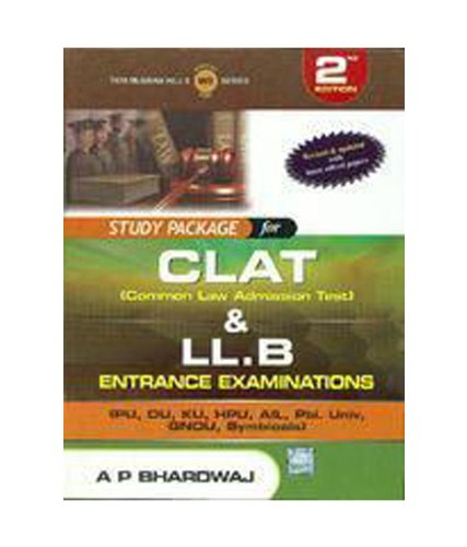 9780071074681: Study Package For Clat & Llb Entrance Examination 2nd Ed