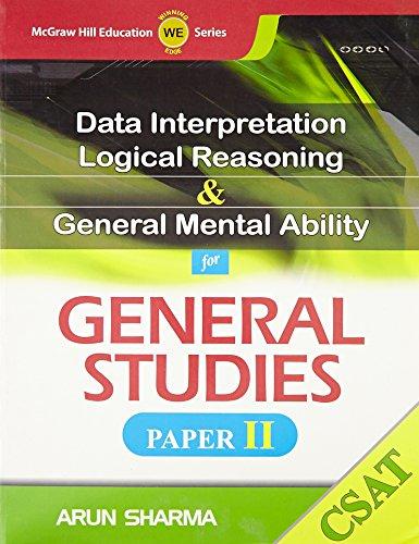 9780071074940: DI, LR & GMA for GS Paper II (CSAT)