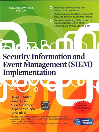 9780071076661: Security Information and Event Management (SIEM) Implementation