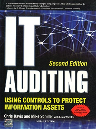 It Auditing Using Controls To Protect Information: Davis,C.