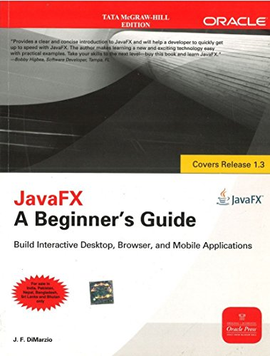 9780071077347: JavaFX A Beginners Guide