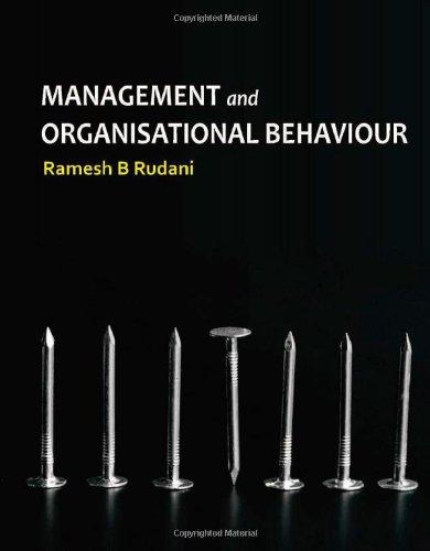 9780071077934: MANAGEMENT & ORGANIZATIONAL BEHAVIOUR, /ED.