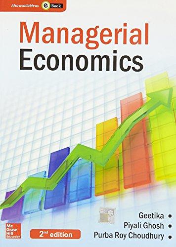 Managerial Economics (English) 2Nd Edition: Piyali Ghosh, Geetika
