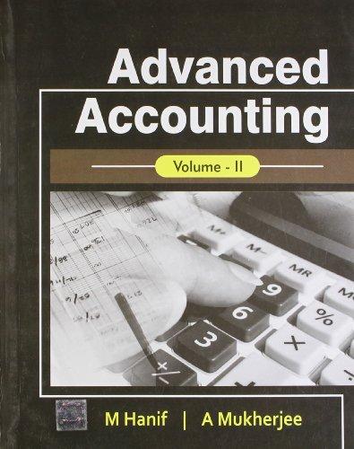 Advanced Accounting, Volume 2: M. Hanif &