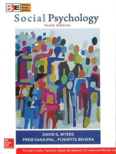 9780071078092: Social Psychology