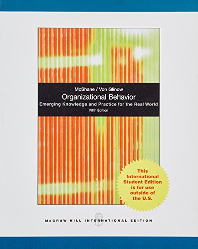 9780071078665: Organizational Behavior