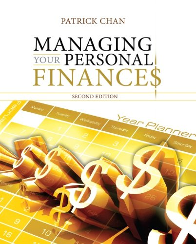 9780071078863: Managing Your Personal Finances