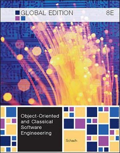 9780071081719: Object-Oriented and Classical Software Engineering (Irwin Computer Science)