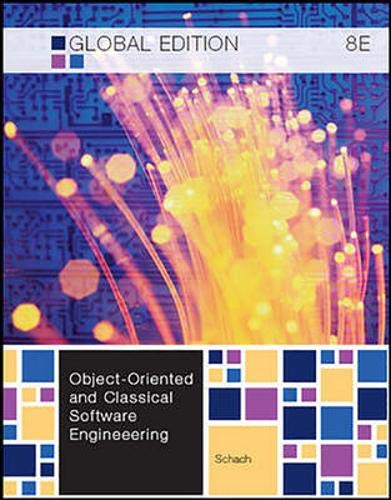 9780071081719: Object-Oriented and Classical Software Engineering (Asia Higher Education Engineering/Computer Science Computer Science)