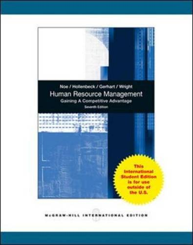 9780071081887: Human Resource Management
