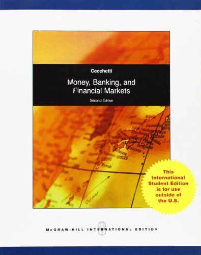 9780071082518: Money, Banking and Financial Markets