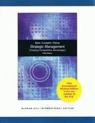 9780071083263: Strategic Management: Creating Competitive Advantages International Edition