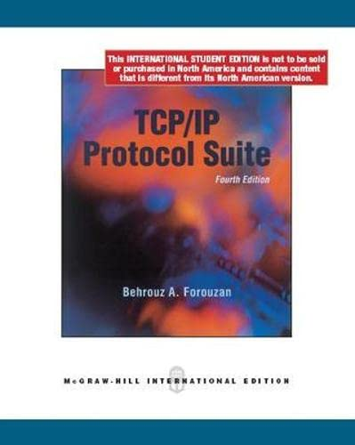 9780071084208: TCP/IP PROTOCOL SUITE (Asia Higher Education Engineering/Computer Science Computer Science)