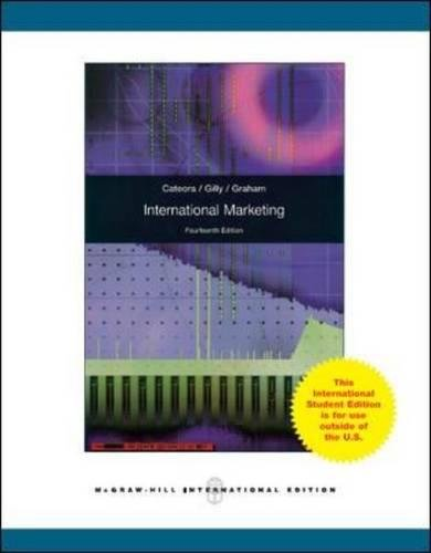 9780071084215: International Marketing