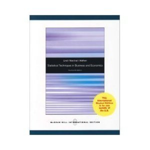 9780071085281: Statistical Techniques in Business and Economics