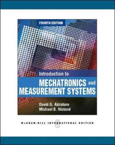 9780071086042: Introduction to Mechatronics and Measurement Systems (Int'l Ed) (Asia Higher Education Engineering/Computer Science Computer Science)
