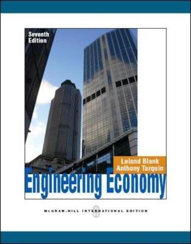 9780071086097: Engineering Economy (Asia Higher Education Engineering/Computer Science Industrial Engineering)