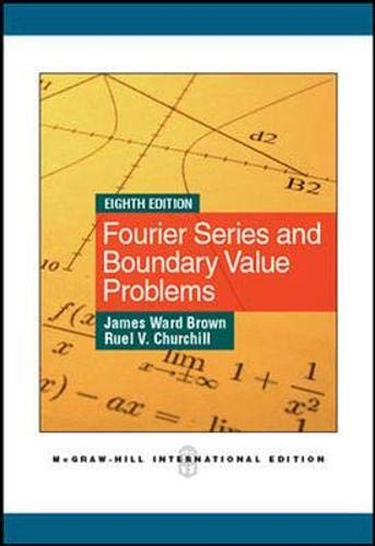 9780071086158: Fourier Series and Boundary Value Problems (Int'l Edition)