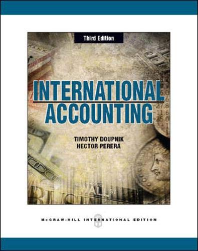 9780071086318: International Accounting