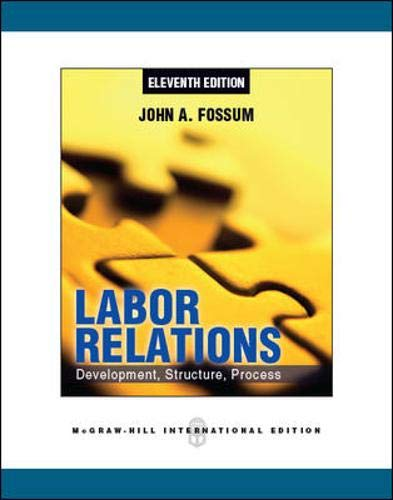 9780071086349: Labor Relations