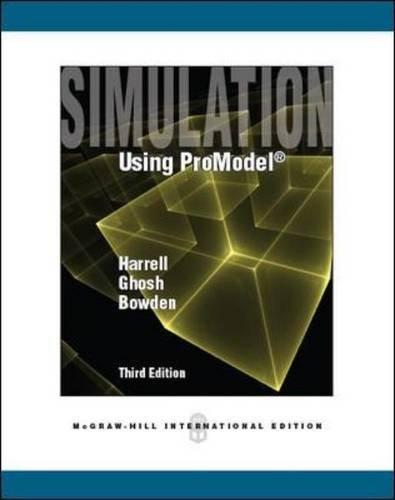 9780071086448: Simulation Using ProModel