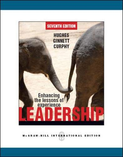 9780071086547: Leadership: Enhancing the Lessons of Experience