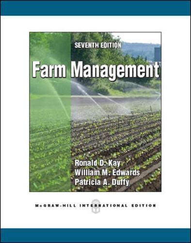 9780071086561: Farm Management (Int'l Ed)