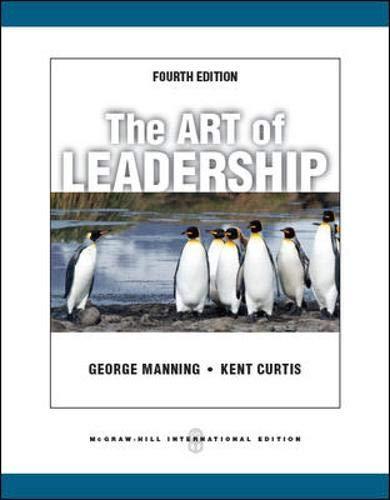 9780071086608: The Art of Leadership