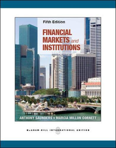 9780071086745: Financial Markets and Institutions (Int'l Ed)