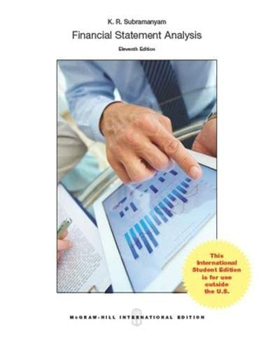 Financial Statement Analysis  Abebooks  KR