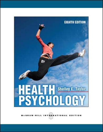 9780071086868: Health Psychology