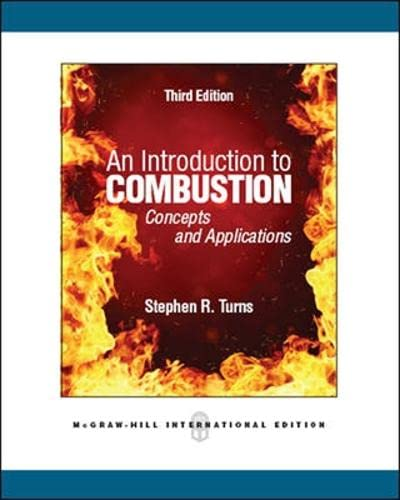 9780071086875: An Introduction to Combustion: Concepts and Applications (Asia Higher Education Engineering/Computer Science Mechanical Engineering)