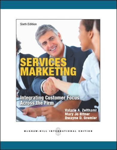 9780071086967: Services Marketing