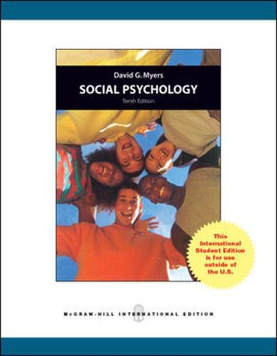 9780071088008: Social Psychology