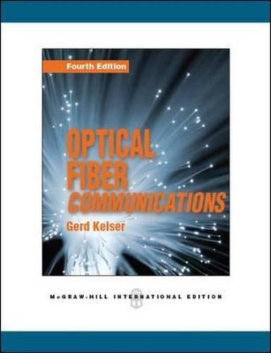 9780071088084: OPTICAL FIBER COMMUNICATIONS