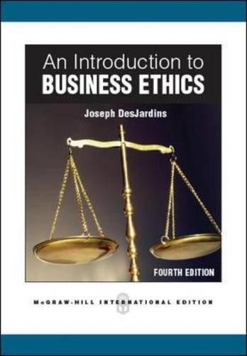 9780071088305: An Introduction to Business Ethics