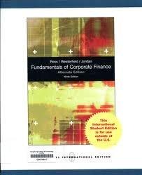 9780071088558: Fundamentals of Corporate Finance [International]