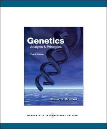 9780071089272: Genetics: Analysis and Principles