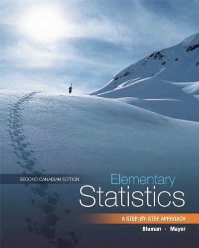 Elementary Statistics (Canadian): Allan G. Bluman