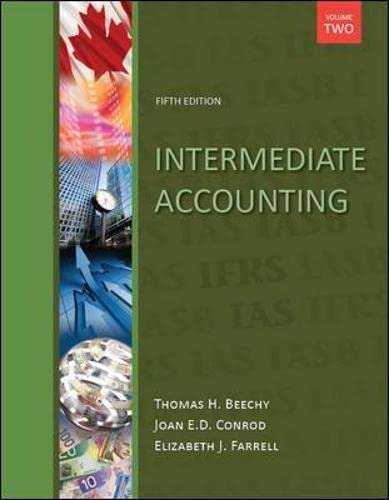 9780071091312: Intermediate Accounting, Volume 2, with Connect Access Card Fifth Edition