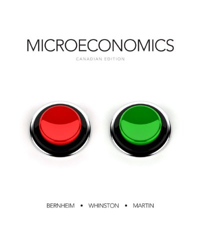 9780071091343: Microeconomics with Connect Access Card Canadian Edition [Hardcover]